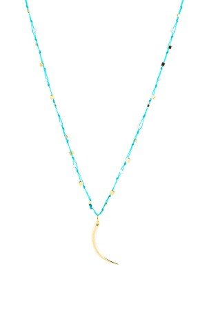 PLAYGROUND - BLUE MOON - Braided Beaded Necklace