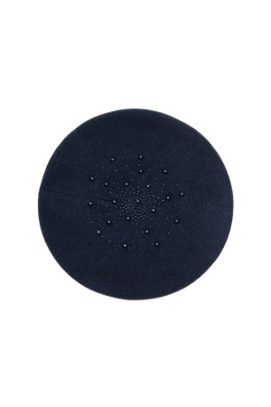 HAPPY SEASONS - BLUE PEARL - Wool Beret