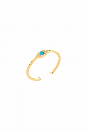COMFORT ZONE - BLUE SPIRIT - Eye Ring
