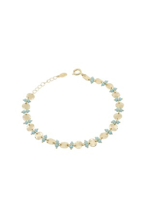 PLAYGROUND - BLUE WAY - Blue Crystal Anklet
