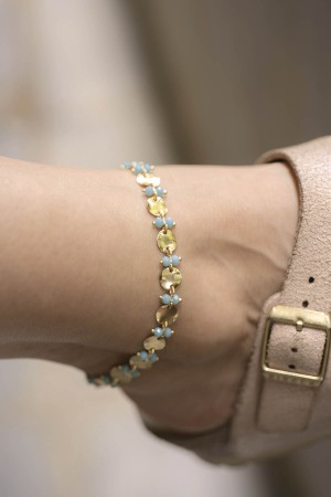 PLAYGROUND - BLUE WAY - Blue Crystal Anklet (1)