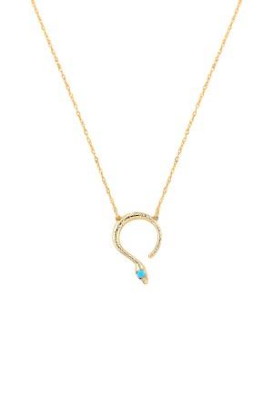 COMFORT ZONE - BOA - Snake Pendant Necklace