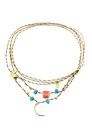 PLAYGROUND - BOHO - Braided Wrap Necklace
