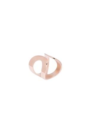 COMFORT ZONE - BOLD CIRCLES - Altın Kaplama Yüzük (1)