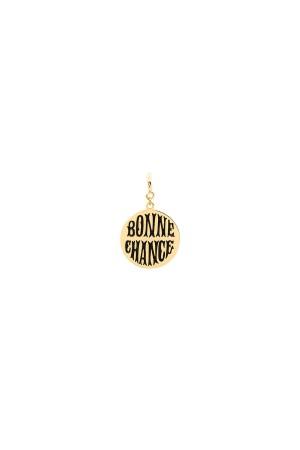 PETIT CHARM - BONNE CHANCE - BLACK - Şans Madalyonu