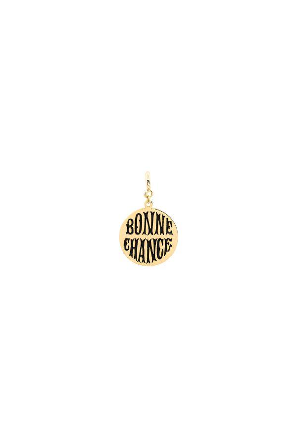 BONNE CHANCE - BLACK - Şans Madalyonu