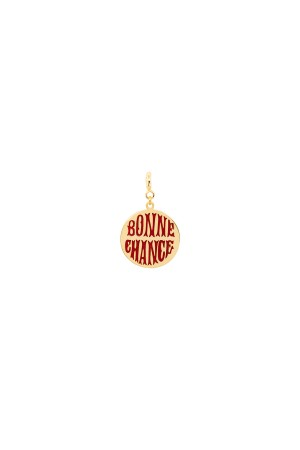 PETIT CHARM - BONNE CHANCE - RED - Luck Coin