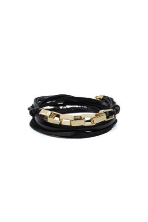 SHOW TIME - BOXY BLACKIE - Wrap Bracelet