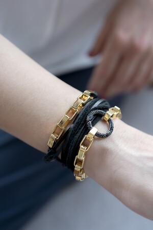 SHOW TIME - BOXY BLACKIE - Wrap Bracelet (1)
