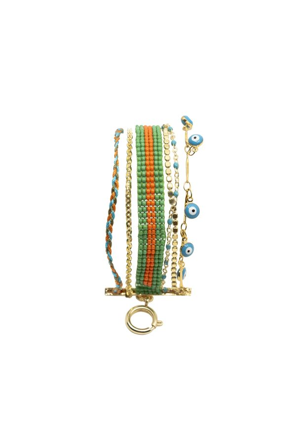 BRAZIL - Multilayered Bracelet