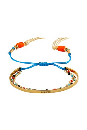 PLAYGROUND - BREATH - Tasseled Sliding Knot Bracelet