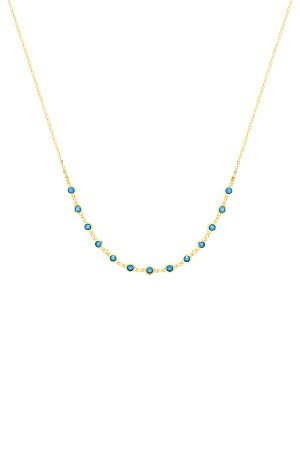 COMFORT ZONE - BREEZE - Blue CZ Necklace
