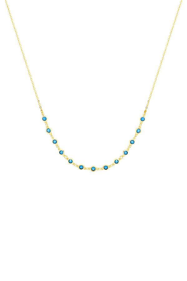 BREEZE - Blue CZ Necklace
