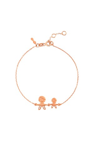 PETITE FAMILY - BROTHERS - Dainty Bracelet for Mom (1)