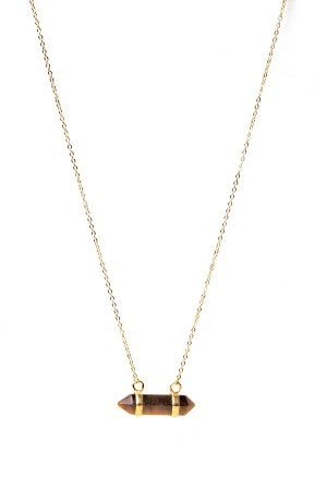 COMFORT ZONE - BROWNIE - Dainty Necklace