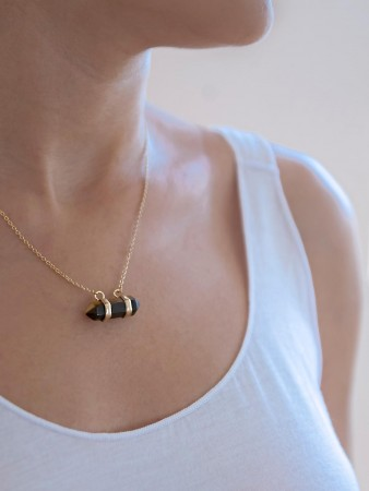 COMFORT ZONE - BROWNIE - Dainty Necklace (1)