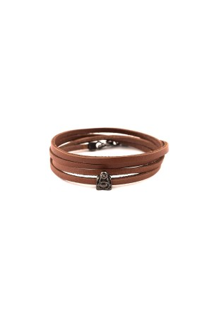 MANLY - BUDDHA - Leather Bracelet