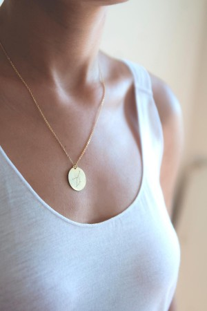 CANCER - Personalized Star Sign Necklace - Thumbnail