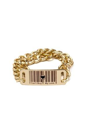 BAZAAR - CAN'T BUY MY LOVE - ID Bracelet