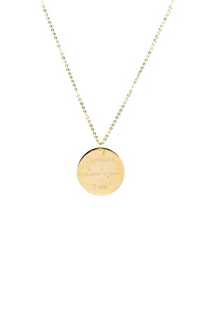 PETITE JEWELRY - CAPRICORN - Customized Zodiac Constellation Necklace (1)