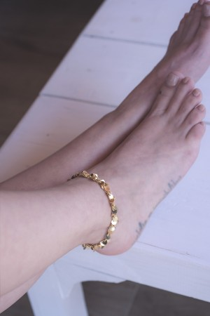 SHOW TIME - CARMEN - Coin Chain Anklet (1)