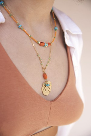 COMFORT ZONE - CASABLANCA - Beaded Necklace (1)