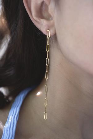 COMFORT ZONE - CHANMAY - Chain Earrings (1)