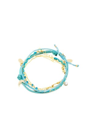 COMFORT ZONE - CHAOS - Azure - Set of Bracelet