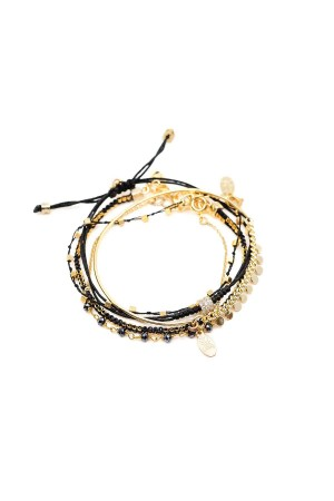 COMFORT ZONE - CHAOS - Black - Set of Bracelet