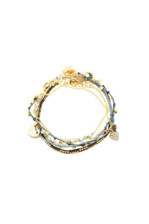 COMFORT ZONE - CHAOS - Grey - Set of Bracelet