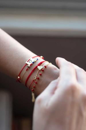 CHAOS - Red - Bileklik Seti - Thumbnail
