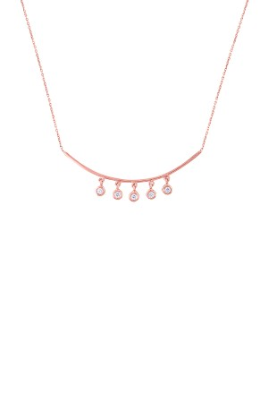 PETITE JEWELRY - CHARMING - Dangle Brilliant Necklace