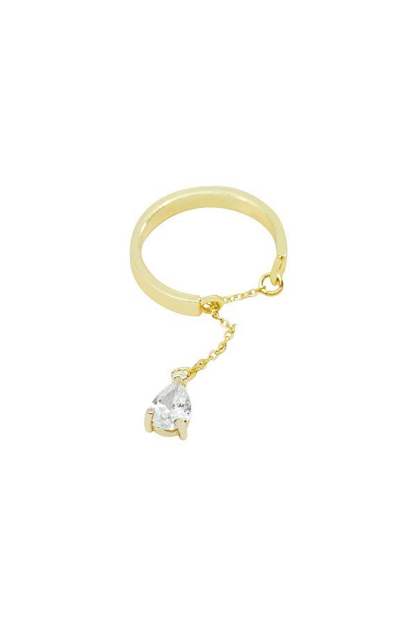 CHARMING DIAMOND - Dangle Ring