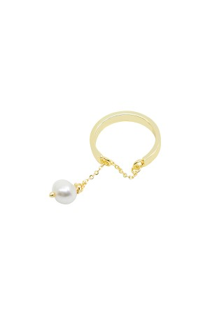 COMFORT ZONE - CHARMING PEARL - Dangle Ring
