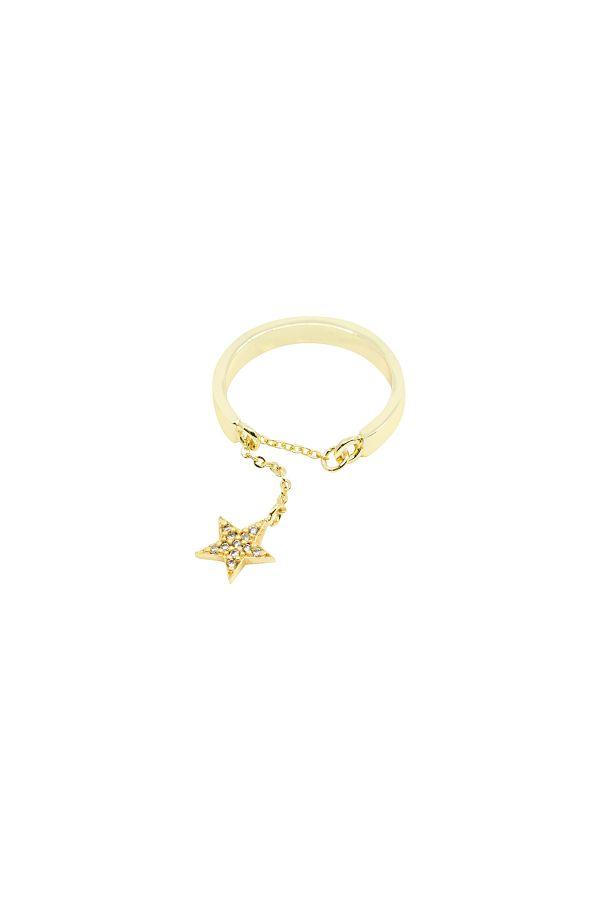 CHARMING STAR - Dangle Ring