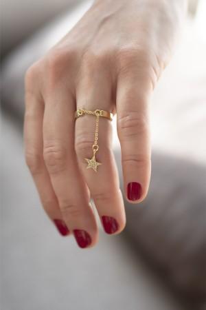 PLAYGROUND - CHARMING STAR - Dangle Ring (1)
