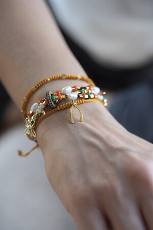 SHOW TIME - CHEERFULLY - Layered Elastic Bracelet (1)