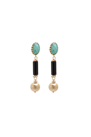 SHOW TIME - CHIC - Black Statement Earrings