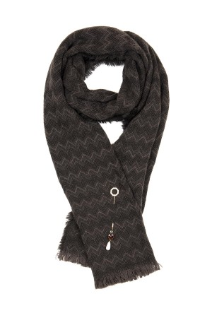 HAPPY SEASONS - CHICCY - Scarf with Broach