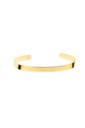 COMFORT ZONE - CHOOSE HAPPY - Motto Bracelet
