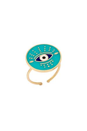 PLAYGROUND - CIELO - Round Eye Ring