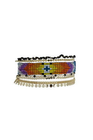 PLAYGROUND - CIGANA - Multilayered Bracelet