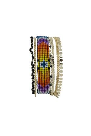 CIGANA - Multilayered Bracelet - Thumbnail