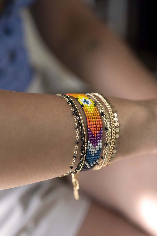CIGANA - Multilayered Bracelet