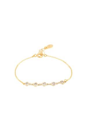 COMFORT ZONE - CINQUE - Dainty CZ Bracelet