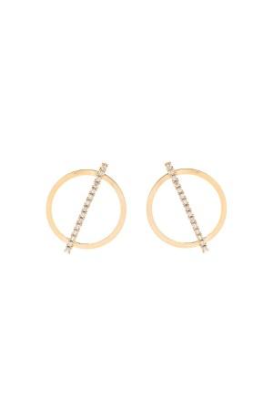 BAZAAR - CIRCLE - Hoop Earrings