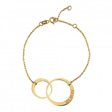 PETITE JEWELRY - CIRCLES - Customized Circle Bracelet (1)