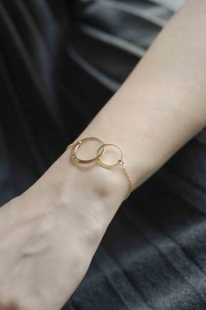 CIRCLES - Customized Circle Bracelet - Thumbnail