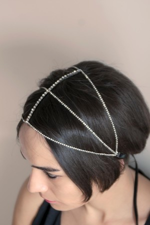 SHOW TIME - CLOCHE - Vintage Headband