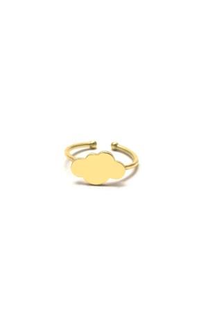 PLAYGROUND - CLOUD RING - Altın Kaplama Yüzük